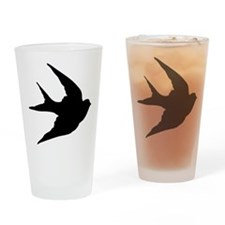 Swallow Drinking Glass