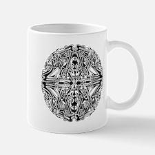 Mirrored Circle Design Mug