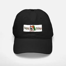German Shepherd Holiday Baseball Hat