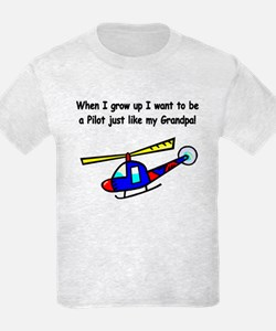 Helicopter Pilot Grandpa T-Shirt