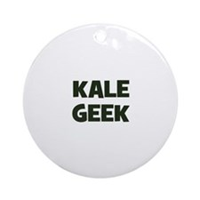 kale geek Ornament (Round)