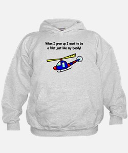 Helicopter Pilot Daddy Hoodie