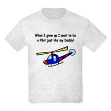 Helicopter Pilot Daddy T-Shirt