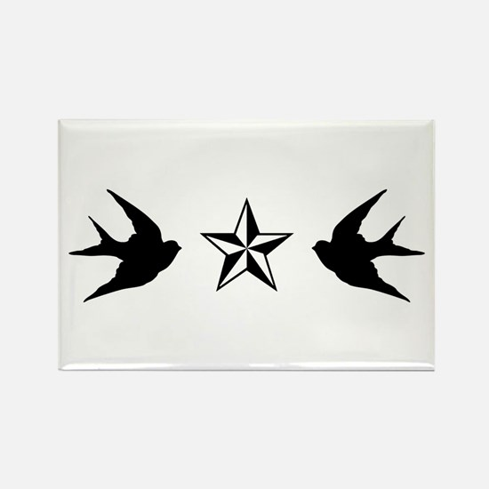 Swallows and Stars Magnets