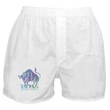 Taurus the Bull d6 Boxer Shorts