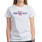 Support ORION KARL DALEY 2008 Women's T-Shirt