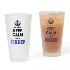 Funny Jenner Drinking Glass