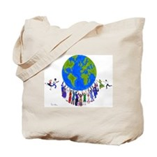Sharing The Load Tote Bag