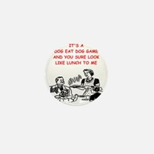dog eat dog 1 Mini Button