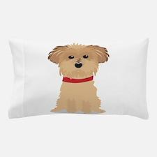 Terrier Puppy Pillow Case