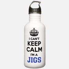 Cute Keep calm and jig on Water Bottle