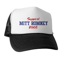 Support MITT ROMNEY 2008 Trucker Hat