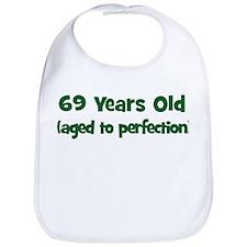 69 Years Old (perfection) Bib