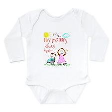 Childrens Long Sleeve Infant Bodysuit