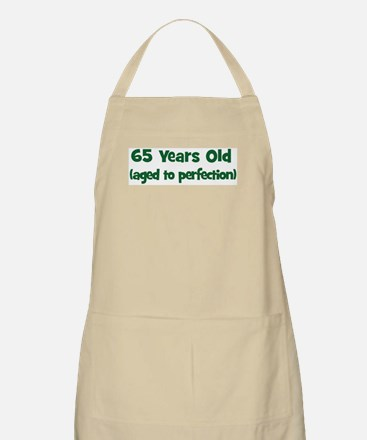 65 Years Old (perfection) BBQ Apron
