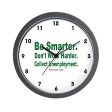 Collect Unemployment Wall Clock