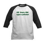 60 Years Old (perfection) Kids Baseball Jersey