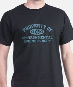 Property Of Environmental Sciences T-Shirt