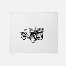fixie Throw Blanket