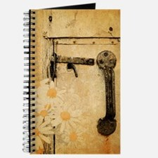 rustic country daisy Journal