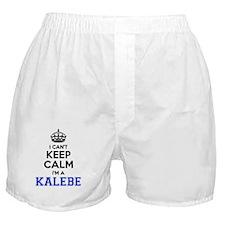 Cute Kaleb's Boxer Shorts