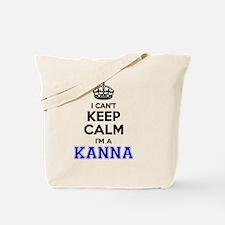 Keep calm and Tote Bag