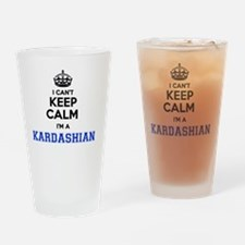 Cute Kardashians Drinking Glass