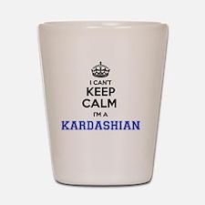 Funny Keep calm Shot Glass