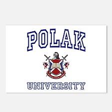 POLAK University Postcards (Package of 8)