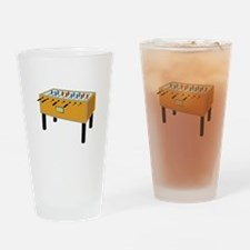 Foosball Drinking Glass