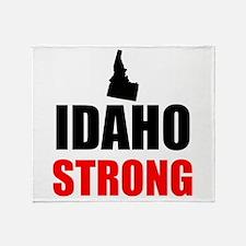 Idaho Strong Throw Blanket