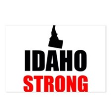 Idaho Strong Postcards (Package of 8)