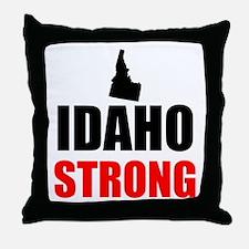 Idaho Strong Throw Pillow
