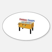 Foosball Champs Decal