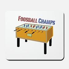 Foosball Champs Mousepad