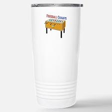 Foosball Champs Travel Mug