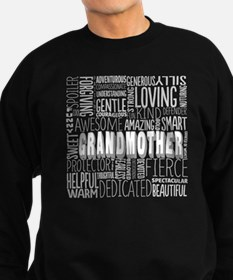 Grandmother Word Cloud Sweatshirt