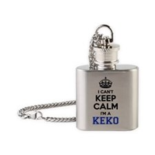 Funny Keko Flask Necklace