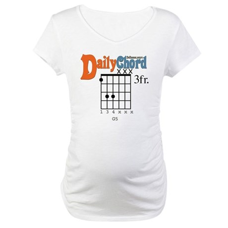 G5 Power Chord Maternity T-Shirt