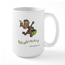 Monkey Mug, Large: Business Monkey