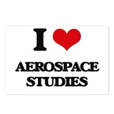 I Love Aerospace Studies Postcards (Package of 8)