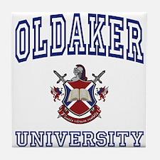 OLDAKER University Tile Coaster