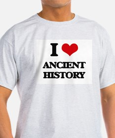 I Love Ancient History T-Shirt
