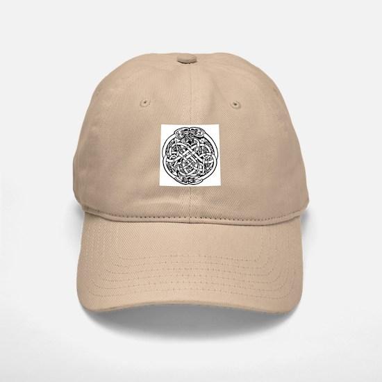 Zoomorphic Celtic Circle Baseball Baseball Cap