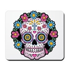 Dia de los Muertos Skull Mousepad