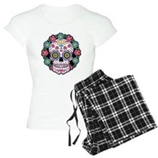 Dia de los Muertos Skull Pajamas