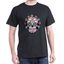 Dia de los Muertos Skull T-Shirt