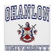 OHANLON University Tile Coaster