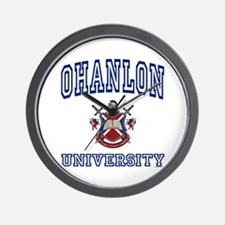 OHANLON University Wall Clock