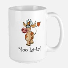 Cow Mug, Large: Moo La-La